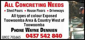 All Concreting Needs 