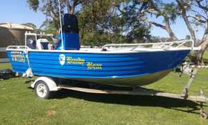 5m Brooker tinny,
