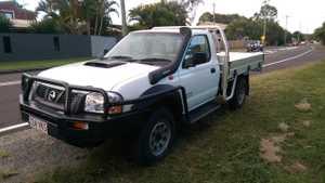 2010 Nissan Navara,  4x4,  DX 2.5L T/Diesel,  5 spd,  A/C,  P/Steer,  New alloy tray,  153ks,  Rego,  RWC,  $15,500.