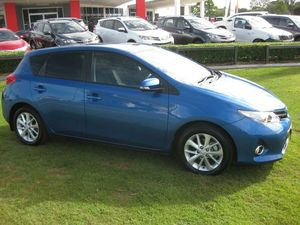 2014 Toyota Corolla ZRE182R Ascent Sport Blue 7 Speed CVT Auto Sequential Hatchback