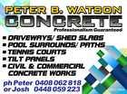 Peter B. Watson Concrete