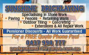Specialising in Stone Work