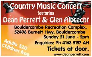 Country Music Concert