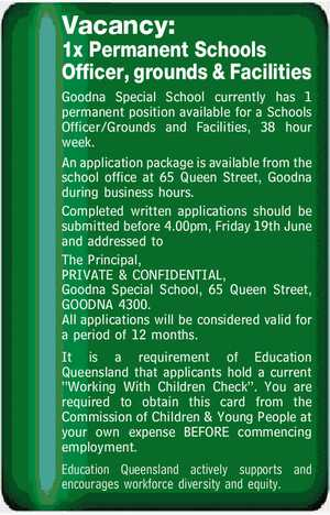 Vacancy: