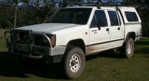 Dual Cab with canopy