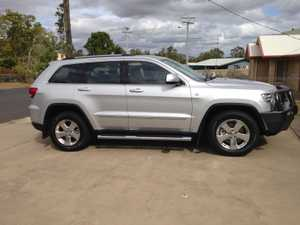 Grand Cherokee Jeep 2012, Silver, 3 ltr diesel, auto, 68,000kms, rego & warranty till Oct 2017, immaculate condition, $37,000 neg, too many extras to list. 0428 459 659