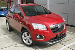 Why buy New?  2014 Holden Trax LTZ with just 13,383klms since new!  This top of the Range Trax comes very well equipped with Leather interior, Holden IQ with Bluetooth Phone, Voice Recognition and Touch screen.    Our Trax will also come with the remainder of the Holden Warranty until Nov ...