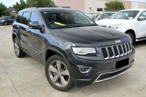 """2013 MY2014 Jeep Grand Cherokee Limited!  This beautiful vehicle looks brilliant in Grey with Dark tinted Windows and 20"""" Jeep Alloy wheels.  This Petrol Grand Cherokee is the MY14 model with the amazing 8 Speed gear box, Garmin Powered Sat Nav system and Uconnect head unit, incorporating Uconnect(Bluetooth), Reverse ..."""