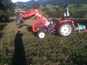 Kioti Daedong 34hp, diesel tractor