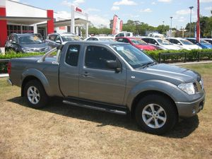 2011 Nissan Navara D40 ST-X (4x4) Grey 6 Speed Manual Kingcab
