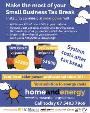 Make the most of your Small Business Tax Break 