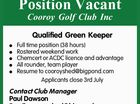 Qualified Green Keeper