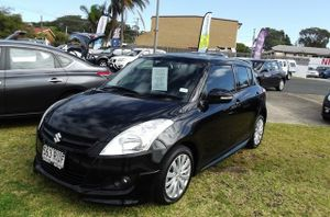 2011 Suzuki Swift FZ GLX Black 5 Speed Manual Hatchback