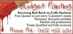 Servicing Red Rock to Coffs Harbour 