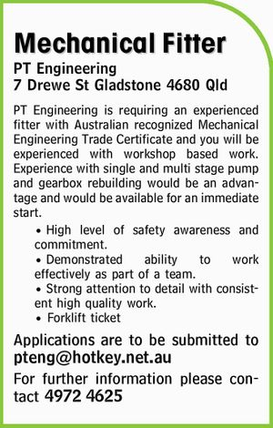 Mechanical Fitter 
