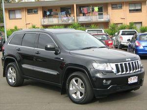 2012 Jeep Grand Cherokee WK MY12 Laredo (4x4) Black 5 Speed Automatic Wagon