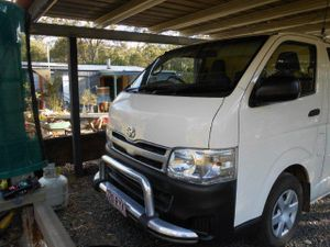 2011  Longwheel base  Side window  Rear step  Nudge bar,  Excellent Condition  148,000 kms  5 mth rego  RWC  Ph: 0746979599/ 0407763340