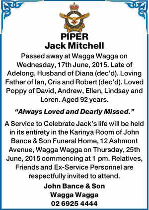 PIPER Jack Mitchell
