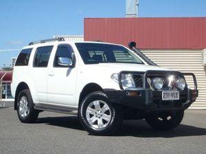 2006 Nissan Pathfinder R51 TI White 5 Speed Automatic Wagon