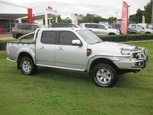 2011 Ford Ranger PK XLT (4x4) Silver 5 Speed Manual