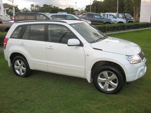2011 Suzuki Grand Vitara JT MY08 Upgrade (4x4) White 4 Speed Automatic Wagon