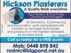 Hickson Plasterers
