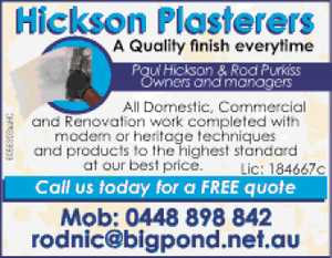 A Quality finish everytime 