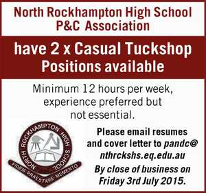North Rockhampton High School P&C Association 
