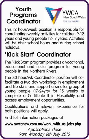 Youth Programs Coordinator