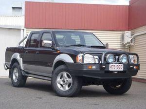 2009 Nissan Navara D22 MY2009 ST-R Black 5 Speed Manual Utility
