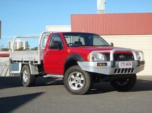 2005 Nissan Navara D22 MY2003 DX Red 5 Speed Manual Cab Chassis
