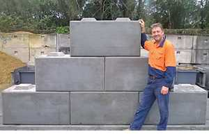 ECO BLOCKS For Sale 600mm x 600mm x 1200mm interlocking. Phone