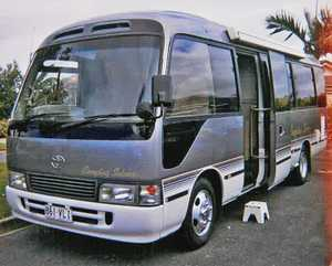 TOYOTA Coaster conversion motor home recent Australian Plate. New tyres, brakes etc. Deisel Turbo 6 cyls Auto 98,000 klms new condition. Fitout, Reg & Insured. Ph:0413734747. $85,000