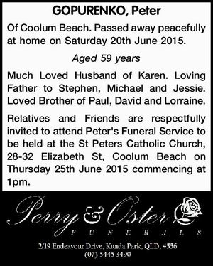 GOPURENKO, Peter