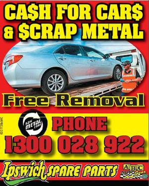 CASH for Cars & Scrap Metal