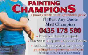 Quality work at an affordable price
