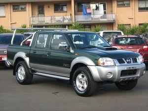 2009 Nissan Navara D22 MY08 ST-R (4x4) Green 5 Speed Manual Dual Cab Pick-up