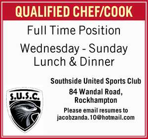 QUALIFIED CHEF/COOK