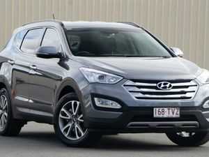 2014 Hyundai Santa Fe DM MY14 Elite Grey 6 Speed Automatic Wagon