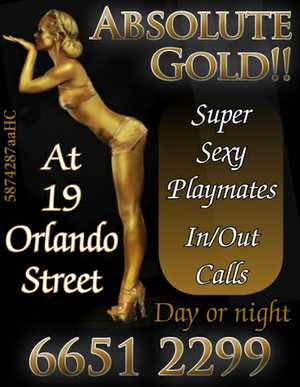 Super sexy playmates. In/out calls day or night. At 19 Orlando Street. 66512299