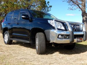 2010 Toyota Landcruiser Prado KDJ150R GXL (4x4) Black 5 Speed Sequential Auto Wagon