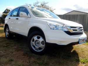 2009 Honda CR-V MY07 (4x4) White 5 Speed Automatic Wagon
