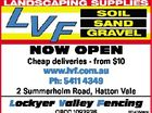 NOW OPEN Cheap deliveries - from $10 www.lvf.com.au Ph: 5411 4349 2 Summerholm Road, Hatton Vale Lockyer Valley Fencing QBCC 1093936 6014164aahc