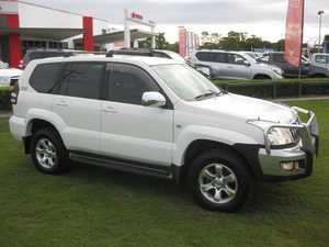 2006 Toyota Landcruiser Prado KZJ120R GXL (4x4) White 4 Speed Automatic Wagon