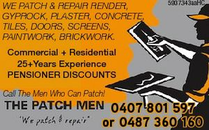 WE PATCH & REPAIR 