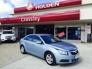 2010 Holden Cruze 3697379 CD Blue 6 Speed Automatic Sedan