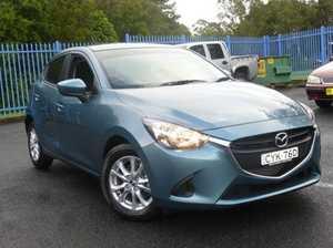 2015 Mazda 2 DJ2HAA Maxx SKYACTIV-Drive Gunmetal Blue 6 Speed Sports Automatic Hatchback