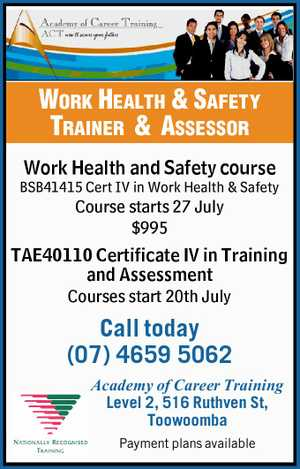 Work Health & Safety Trainer & Assessor 