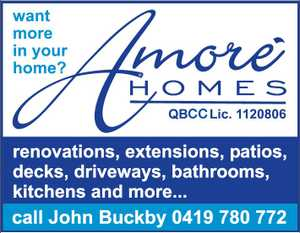 Want more in your home?   Renovations Extensions Pations Decks Driveways Bathrooms and More.....  Call John Buckby on 0419 780 772