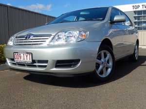 2005 Toyota Corolla ZZE122R Conquest Silver 4 Speed Automatic Sedan